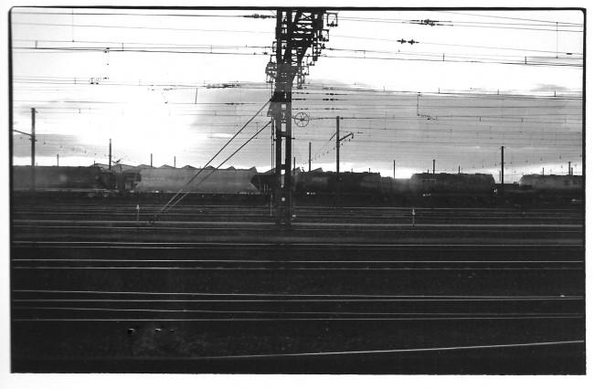 Arrivée à Paris, Paris, noir et blanc, argentique, Devals