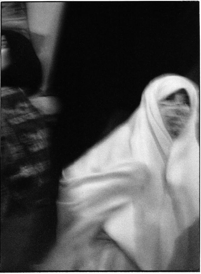 Femme voilée, Maroc, Photo argentiques, Devals