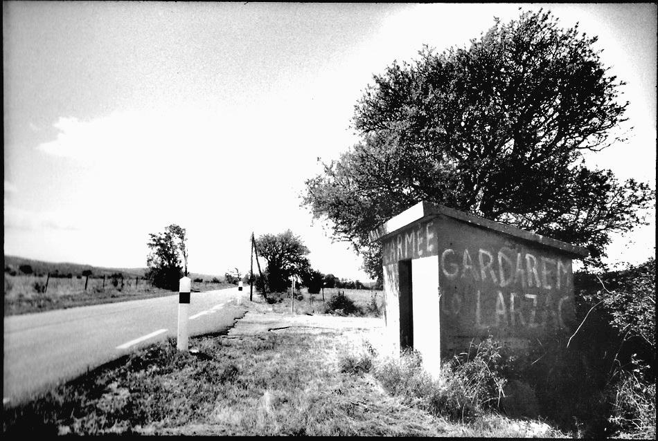 Gardarem Sivens, noir et blanc argentique, Jean-Pierre Devals