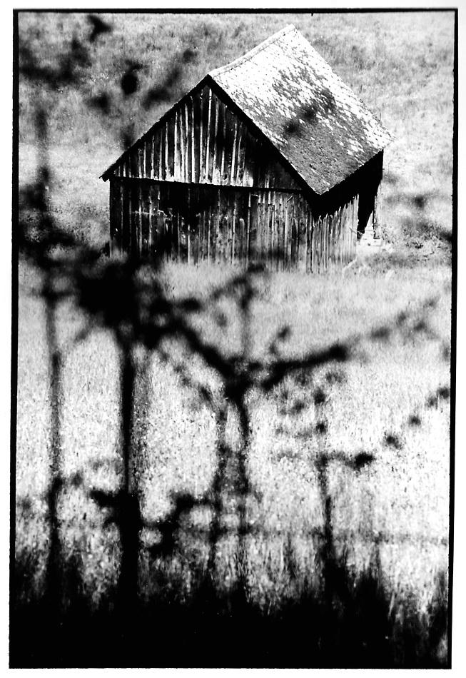 La grangette, Aveyron, vues photographiques, photo argentique