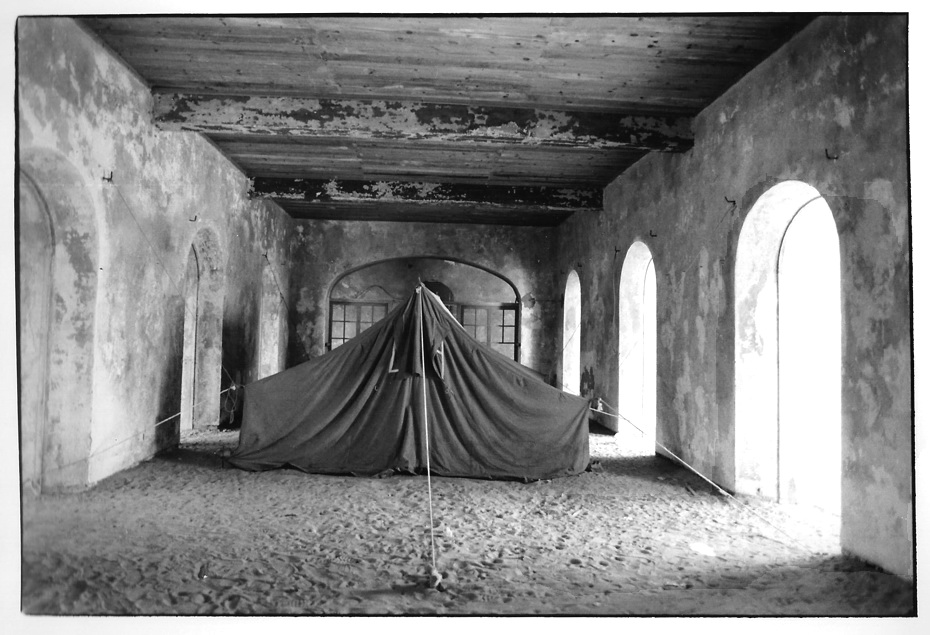 Palais du gouverneur, Mali, photographies argentiques, Devals