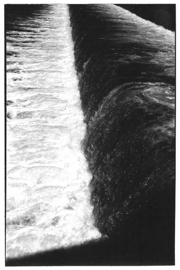 Chaussée sur Garonne, Toulouse, noir et blanc, argentique, Devals