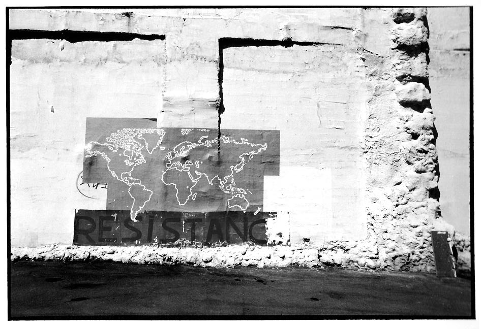 Résistance, clichés noir et blanc argentique, Jean-Pierre Devals