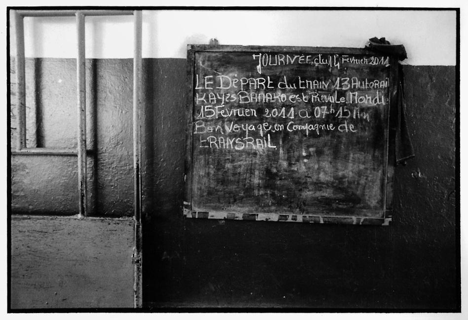 Gare de Kayes, photographies argentiques, Devals