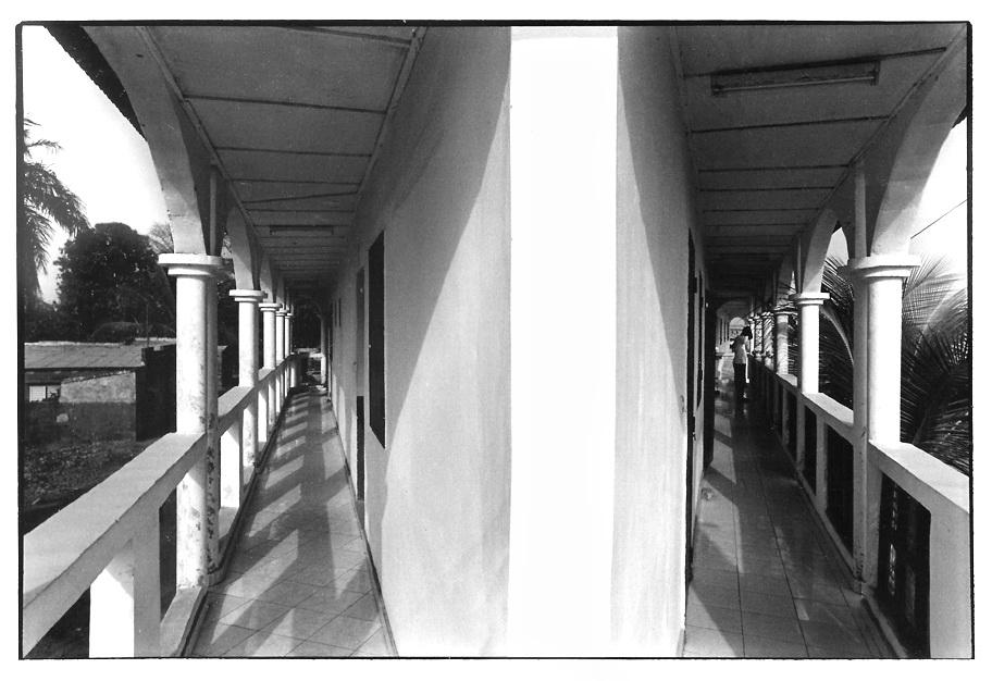 Hotel sangamar, photo noir et blanc, Jean-Pierre Devals